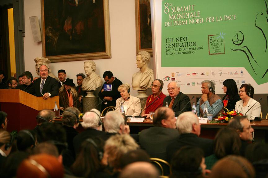 Rome 07 press conference