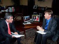 Oscar Arias Alyn Ware